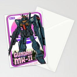MK II Black Gundam Retro Stationery Cards
