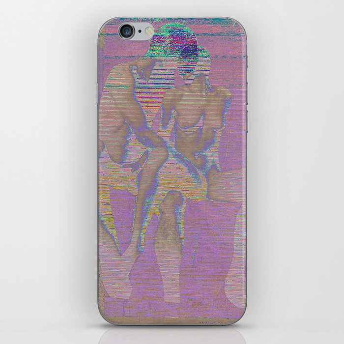 raw touch iPhone Skin