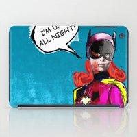 batgirl iPad Cases featuring Batgirl by Ed Pires