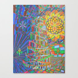 Tower of Babel - 2013 Canvas Print