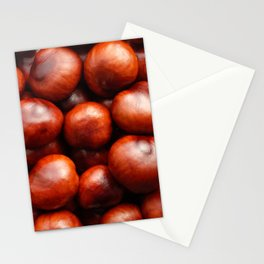 Red conkers Stationery Cards