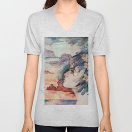 The Lost Love of Wandering Aengus Unisex V-Neck