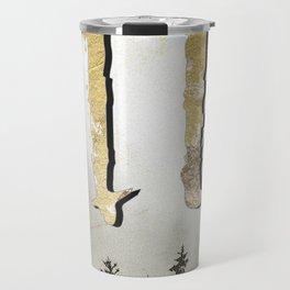 Wild Gold Forest Travel Mug