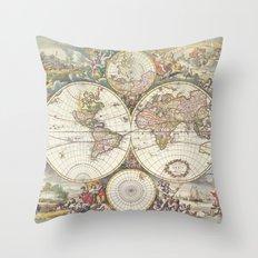 Wit's World Throw Pillow
