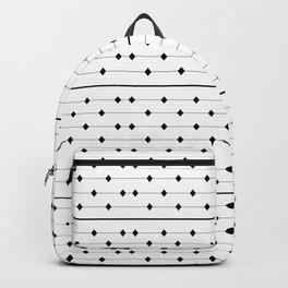 Diamond Lines I Backpack