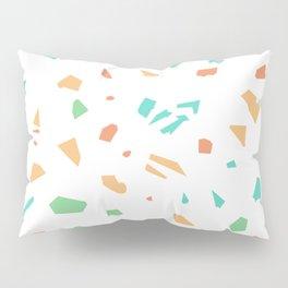 Modern Terrazzo Vector Pattern Pillow Sham