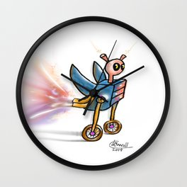 Robot Malfunction Wall Clock