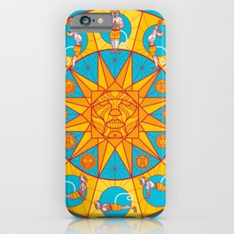 Hanuman Sun Salutations iPhone Case