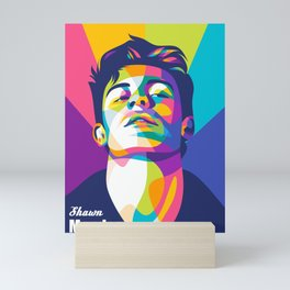 ShawnMendes Pop Art Mini Art Print
