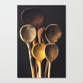 Wooden spoons Canvas Print