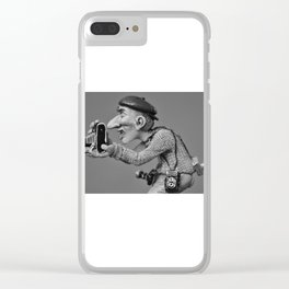 my freelance photographer Clear iPhone Case
