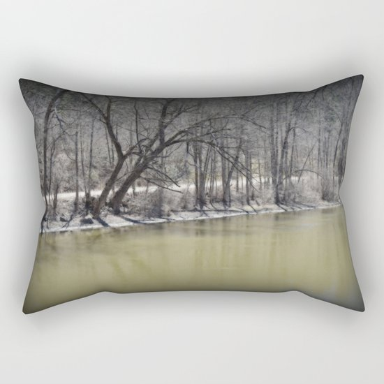 Early Spring in Wakefield  Rectangular Pillow