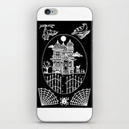 Ominous Victorian House Invert iPhone Skin