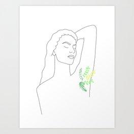Grow Natural Art Print