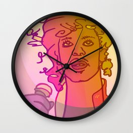 Dear Prince / Stay Wild Collection Wall Clock