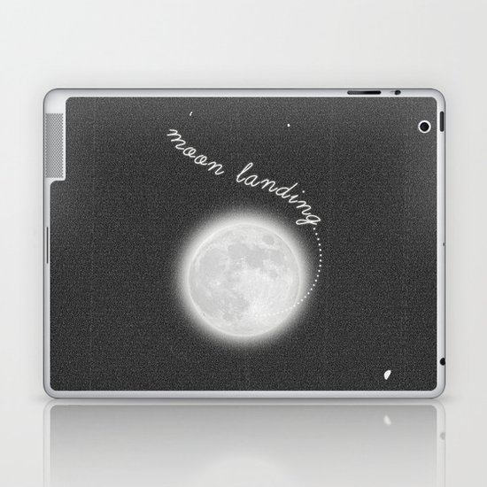 Moon Landing! Laptop & iPad Skin