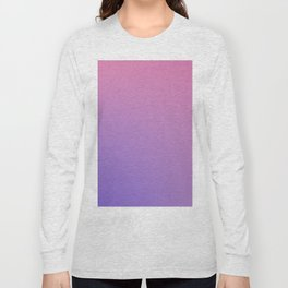 TAINTED CANDY - Minimal Plain Soft Mood Color Blend Prints Long Sleeve T-shirt