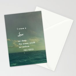Deeper Than the Ocean Stationery Cards