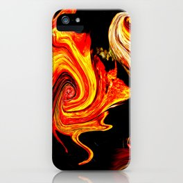Universum Yello iPhone Case