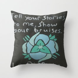 All Our Bruised Bodies, and the Whole Heart Shrinks Throw Pillow