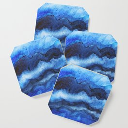 Blue Layers Coaster