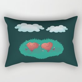 Hearts in the Clouds Rectangular Pillow