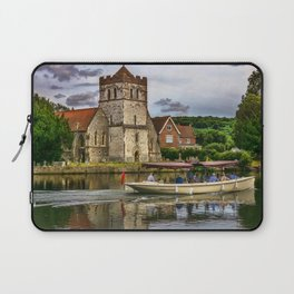 On The Thames At Bisham Laptop Sleeve