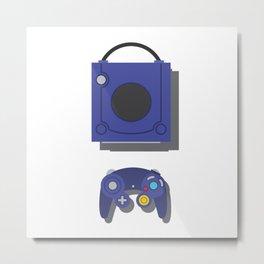 Game Cube Metal Print