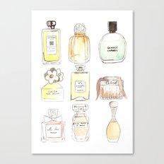 Parfums Canvas Print