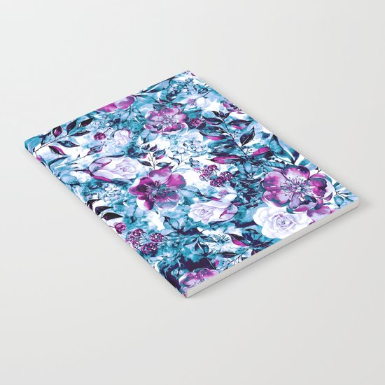 RPE FLORAL BLUE Notebook