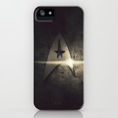 spacecraft logo iPhone SE Slim Case