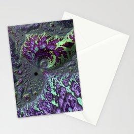 Glitchy Fractal Stationery Cards