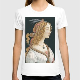 Sandro Botticelli -  Portrait of a Young Woman T-shirt