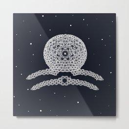 Libra Constellation Metal Print