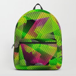 I Don't Do Normal - Abstract Print Backpack