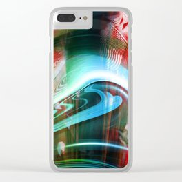 """Star Craft"" Clear iPhone Case"
