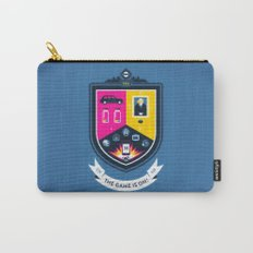 The Game is On! - blue version Carry-All Pouch