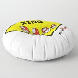 Matryoshka Crossing Floor Pillow