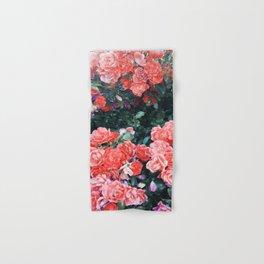 Psychedelic summer florals Hand & Bath Towel