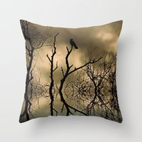 twilight Throw Pillows featuring Twilight by Shalisa Photography