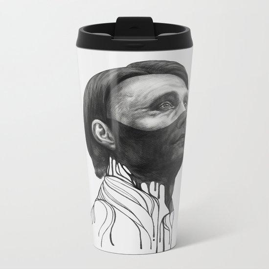 Hannibal Lecter Metal Travel Mug