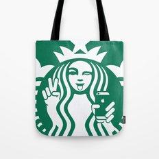 Selfie - 'Starbucks ICONS' Tote Bag