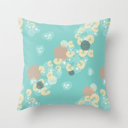 Cockles and Mussels Throw Pillow