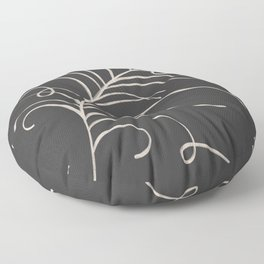 loopy feather Floor Pillow
