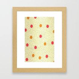 Sprinkles & Dots Framed Art Print