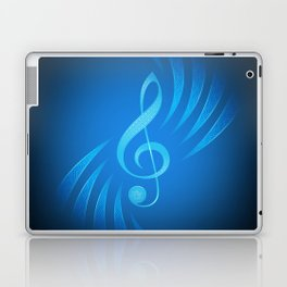 treble clef Laptop & iPad Skin