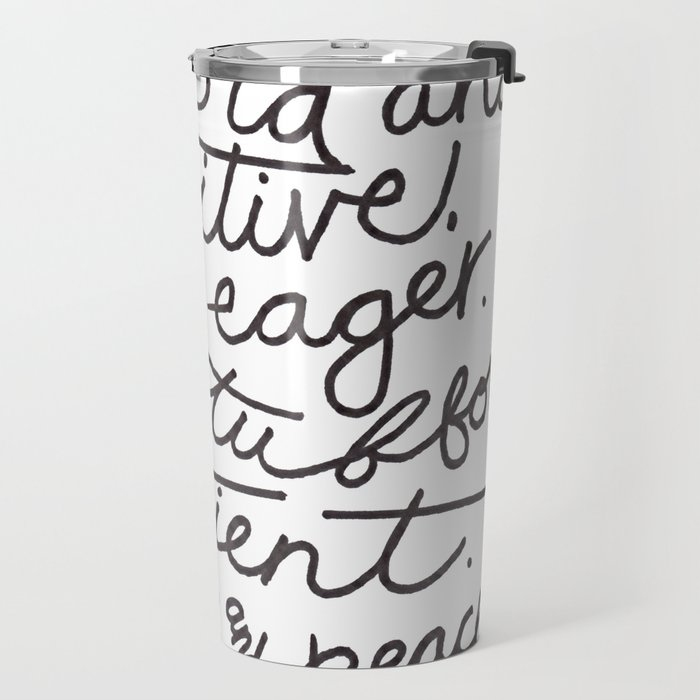 #morethanpretty Travel Mug