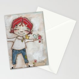 Patient and Still - A place for birds and bird lovers to gather Stationery Cards