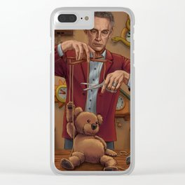 Becoming a Real Bear Clear iPhone Case