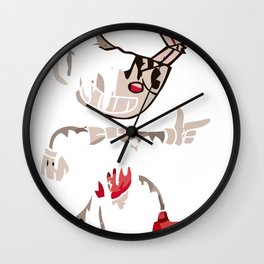 Ink cuphead Wall Clock